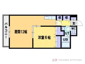 札幌市中央区南3条西12丁目0賃貸マンション間取図面