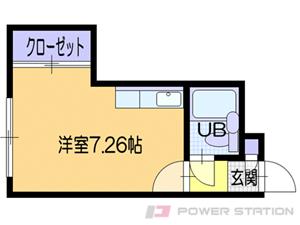 札幌市中央区南4条西12丁目0賃貸マンション間取図面