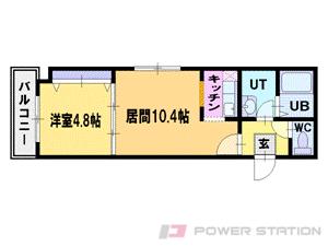 札幌市中央区南2条西9丁目1賃貸マンション間取図面