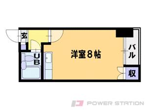 札幌市中央区南3条西9丁目0賃貸マンション間取図面