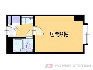 札幌市中央区南4条西10丁目0分譲リースマンション間取図面