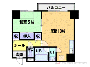 札幌市中央区南3条西6丁目0賃貸マンション間取図面