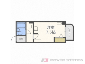札幌市中央区南5条東1丁目0賃貸マンション間取図面