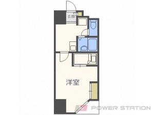 札幌市中央区南5条西1丁目0賃貸マンション間取図面