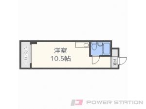 札幌市中央区南4条東4丁目0分譲リースマンション間取図面