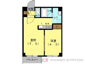 札幌市中央区南5条東3丁目0賃貸マンション間取図面