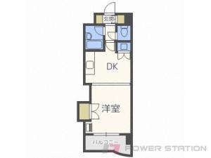 札幌市中央区南5条東3丁目1賃貸マンション間取図面