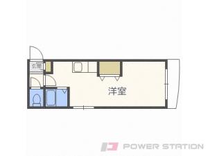札幌市中央区南5条西27丁目0賃貸マンション間取図面