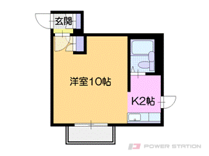 札幌市中央区南5条西26丁目0賃貸マンション間取図面