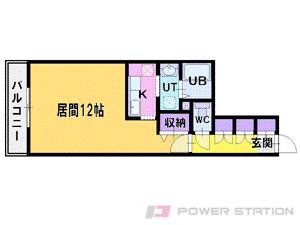 札幌市中央区南6条西24丁目0賃貸マンション間取図面