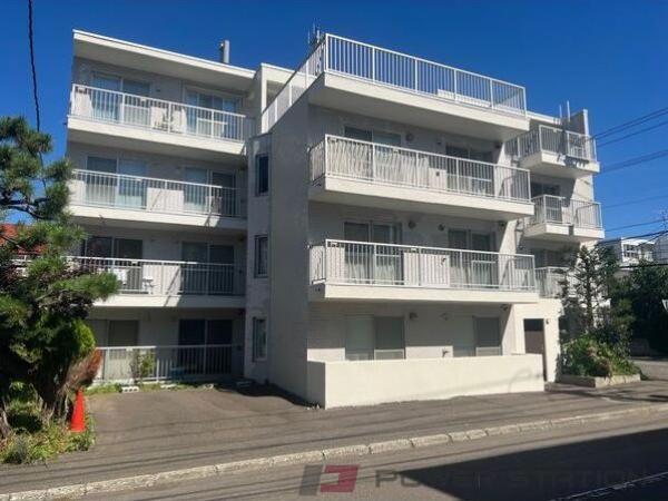 札幌市中央区南6条西24丁目0賃貸アパート外観写真