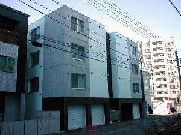 札幌市中央区南6条西25丁目0賃貸マンション外観写真