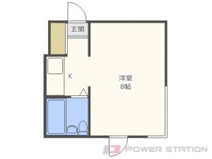 札幌市中央区南4条西21丁目1賃貸マンション間取図面