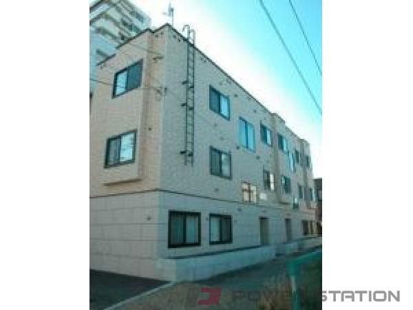 札幌市中央区南6条西22丁目0賃貸アパート外観写真