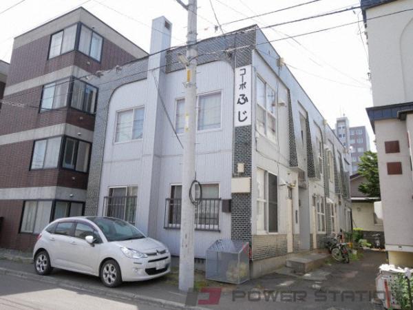 札幌市中央区南5条西17丁目0賃貸アパート外観写真