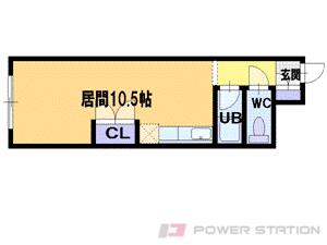 札幌市中央区南7条西18丁目0賃貸マンション間取図面