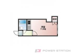 札幌市中央区南6条西12丁目0賃貸マンション間取図面