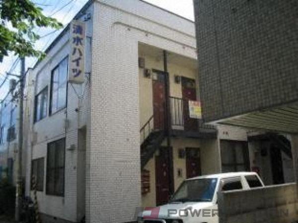 西線6条1DKアパート外観