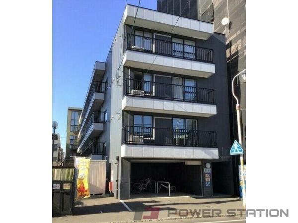札幌市中央区南6条西12丁目0賃貸マンション外観写真