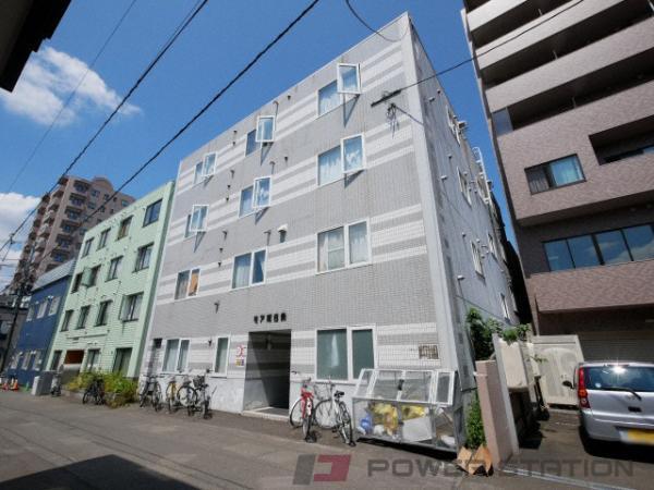 札幌市中央区南6条西11丁目0賃貸マンション外観写真