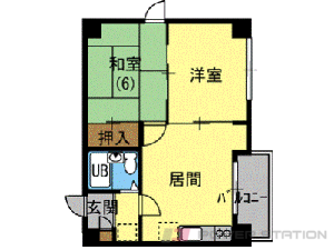 札幌市中央区南7条西12丁目0賃貸マンション間取図面