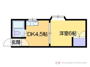 札幌市中央区南7条西12丁目0分譲リースマンション間取図面