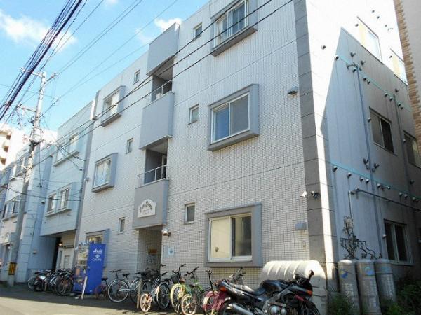 札幌市中央区南8条西12丁目1賃貸マンション外観写真