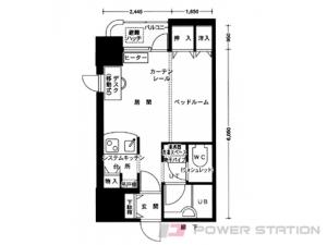 札幌市中央区南5条西10丁目1賃貸マンション間取図面