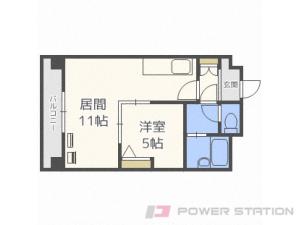 札幌市中央区南7条西7丁目0賃貸マンション間取図面