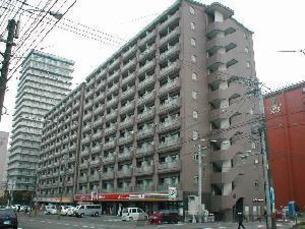 中島公園1Rマンション外観