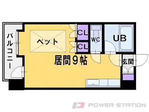 札幌市中央区南8条西6丁目1賃貸マンション間取図面