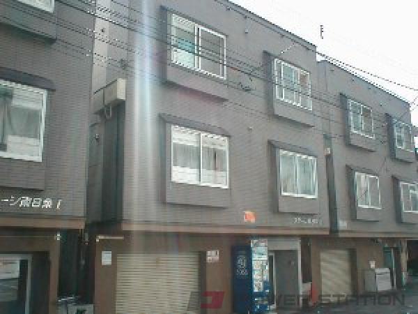 東本願寺前1DKアパート外観