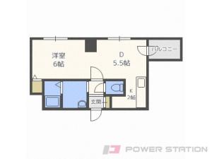 札幌市中央区南7条西2丁目0分譲リースマンション間取図面
