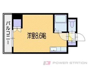 札幌市中央区南8条西1丁目0分譲リースマンション間取図面