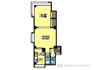 札幌市中央区南9条西21丁目0賃貸マンション間取図面