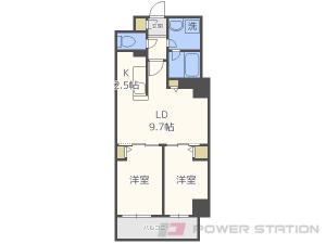 札幌市中央区南6条東1丁目1賃貸マンション間取図面