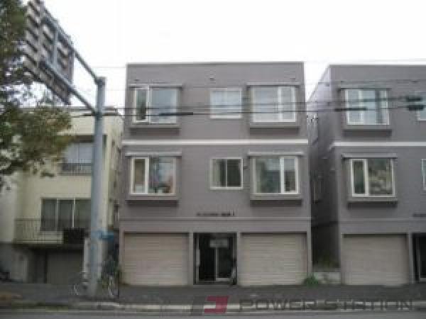 札幌市中央区南8条西18丁目0賃貸アパート外観写真