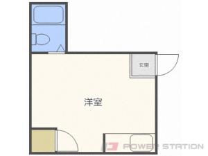 札幌市中央区南8条西13丁目0賃貸アパート間取図面