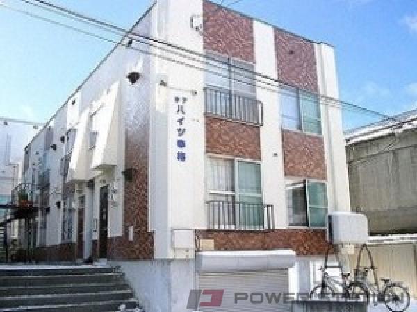 札幌市中央区南10条西15丁目0賃貸アパート外観写真