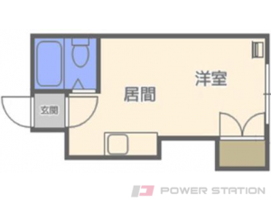札幌市中央区南8条西10丁目0賃貸マンション間取図面