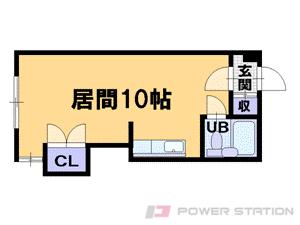 札幌市中央区南10条西8丁目0賃貸マンション間取図面