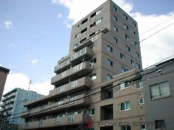 札幌市中央区南10条西8丁目1賃貸マンション外観写真