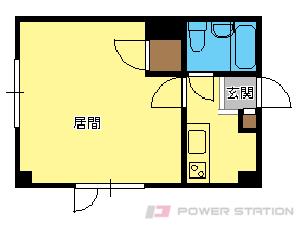 札幌市中央区南9条西8丁目0賃貸マンション間取図面