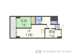 札幌市中央区南9条西4丁目0分譲リースマンション間取図面