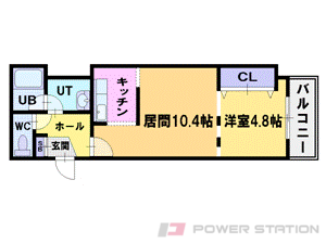 札幌市中央区南11条西1丁目1賃貸マンション間取図面