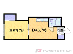 札幌市中央区南11条西1丁目0賃貸マンション間取図面