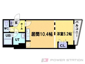 札幌市中央区南11条西1丁目1分譲リースマンション間取図面