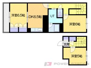 札幌市中央区円山西町9丁目0分譲リースマンション間取図面