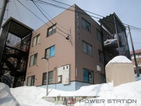 札幌市中央区双子山3丁目1賃貸マンション外観写真