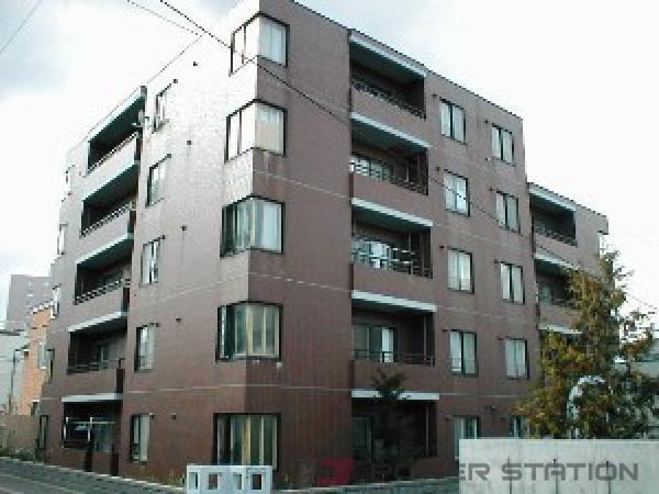 札幌市中央区南13条西18丁目0賃貸マンション外観写真